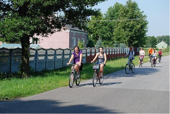 Rajd rowerowy do Rozalina