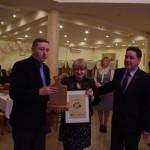 Prezes SKPR-Jarosła-Supera wraz z Przedstawicielami Gminy Wiśniew