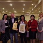 Przedstawiciele Lipnik Parku wraz z koordynatorkami projektu SZREK