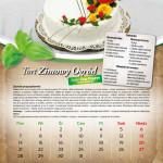 Kalendarz 2013 r. - Styczeń
