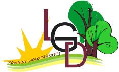 """Logo LGD """"Równiny Wołomińskiej"""""""